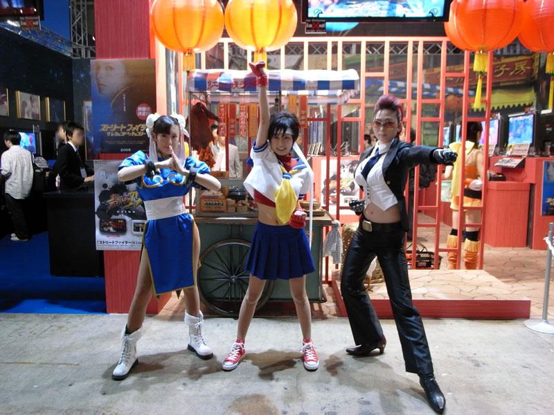 TGS 2008: SF IV: Chun-Li, Sakura & Viper