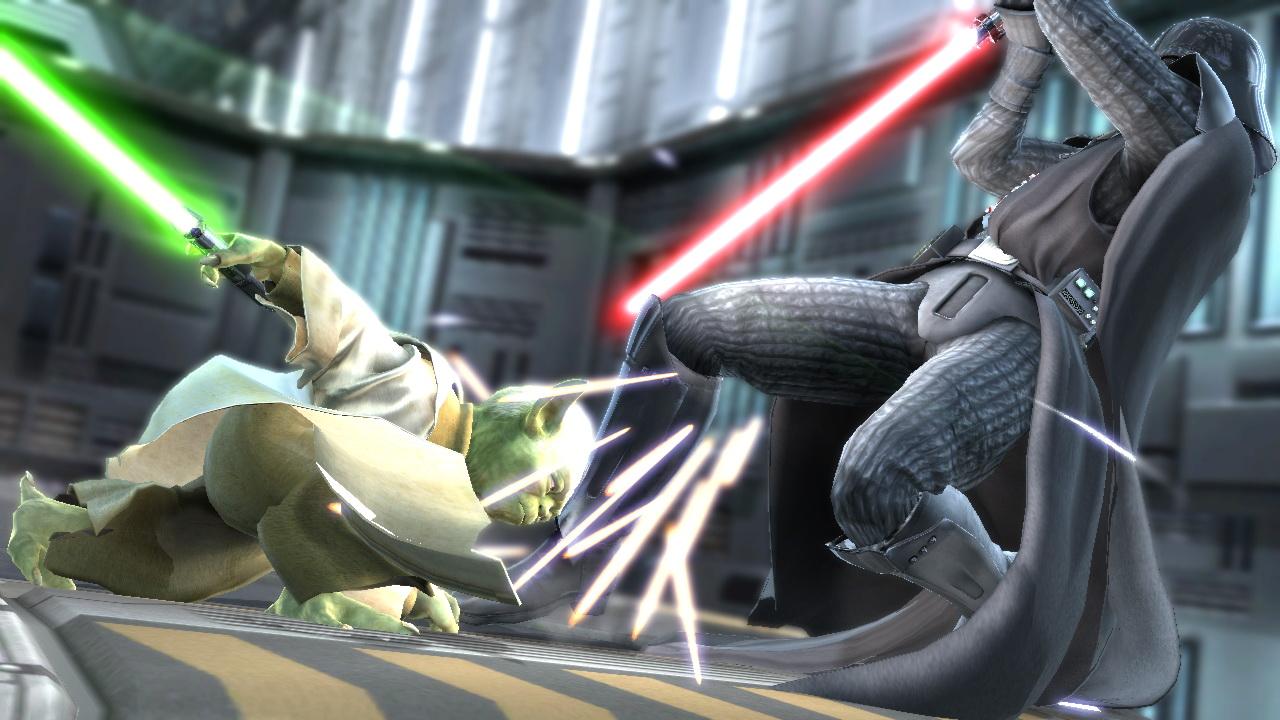 Soul Calibur IV: Yoda vs. Vader - 9