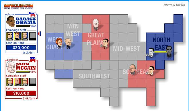 MiniClip: McCain vs. Obama