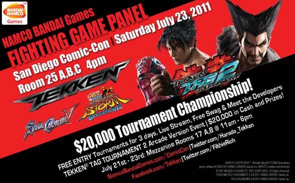 Namco Bandai Games Fighting Panel & Tournament