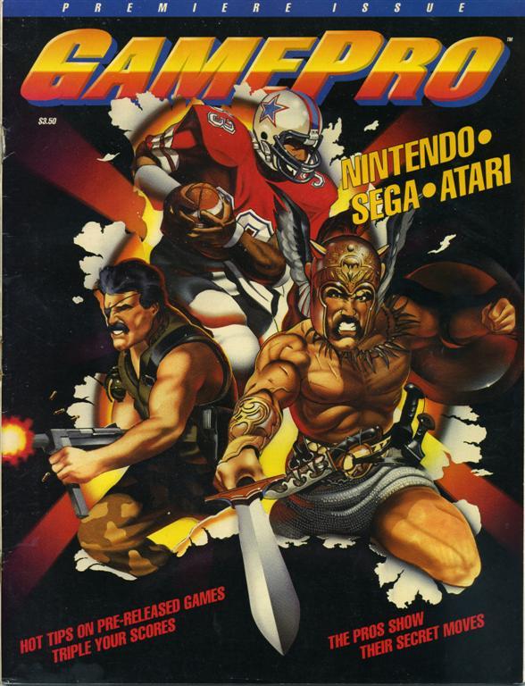 GamePro - Issue #1