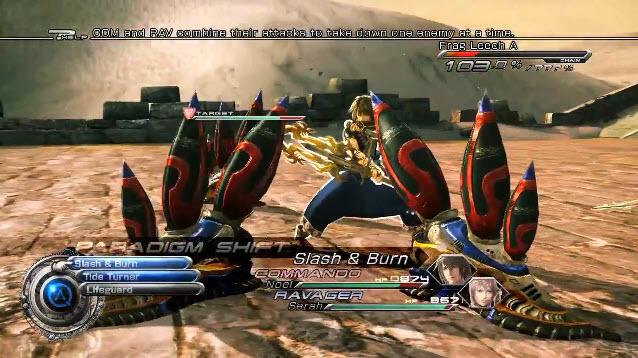 "Square Enix: ""Final Fantasy XIII-2″ [PS3/X360] – 'Enhanced Battle System'"