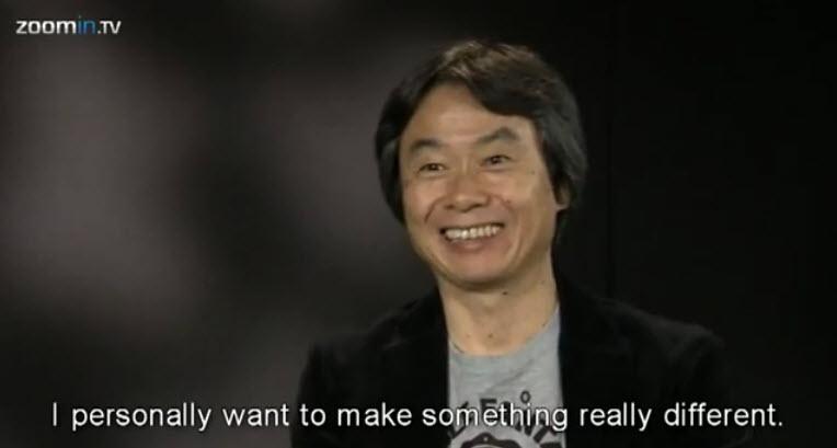 Shigeru Miyamoto / ZoomIn.TV Interview
