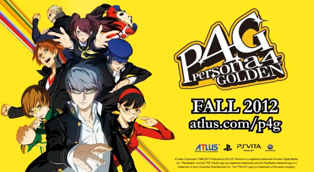 """""""Persona 4 Golden"""""""