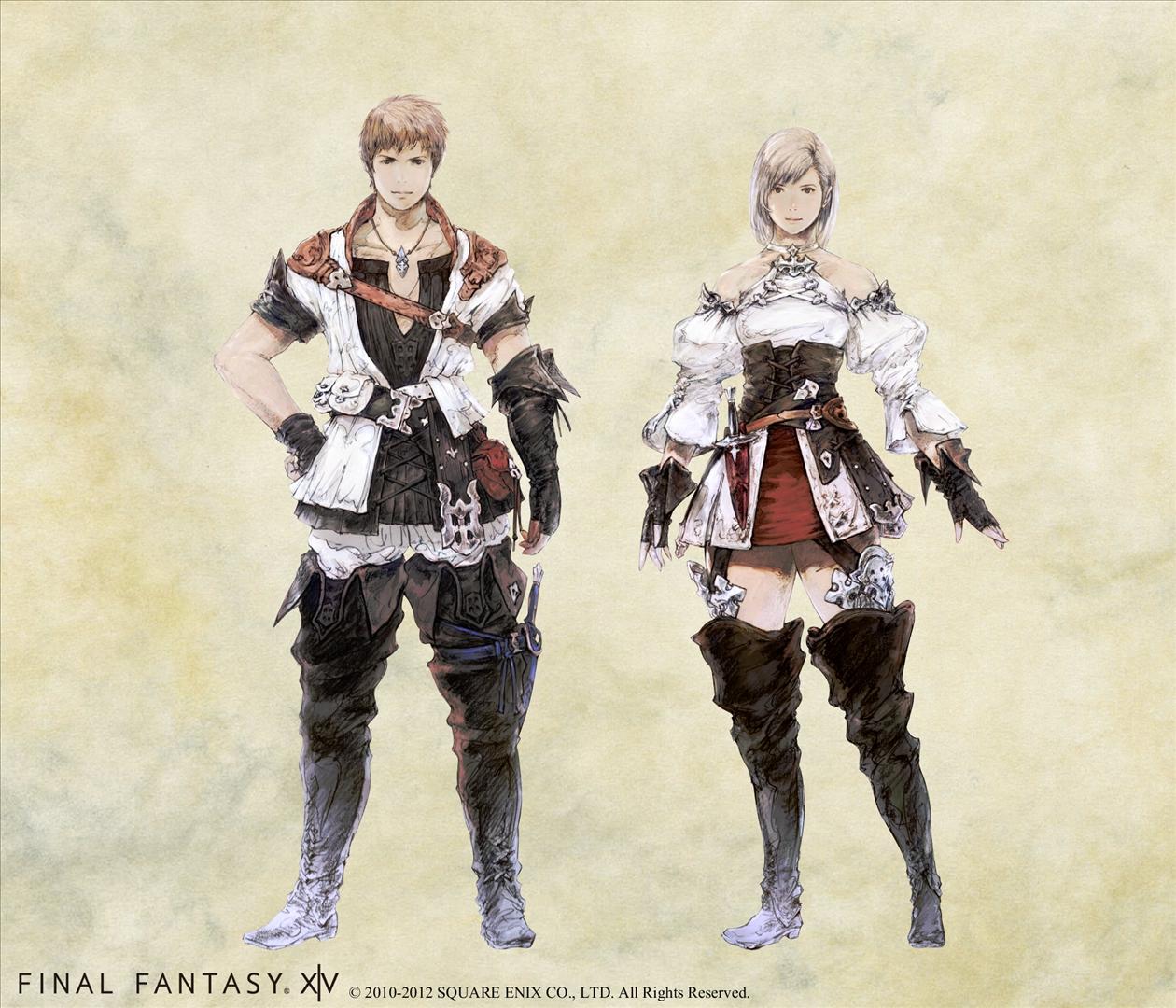 "Square Enix: ""Final Fantasy XIV (v.2.0)"" - Hyur Race"