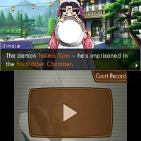 """Phoenix Wright: Ace Attorney – Dual Destinies"" [3DS] - Jinxie talks about Tenma Taro"