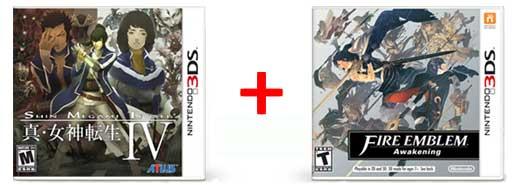"""Shin Mrgami Tensei IV"" & ""Fire Emblem Awakening"""