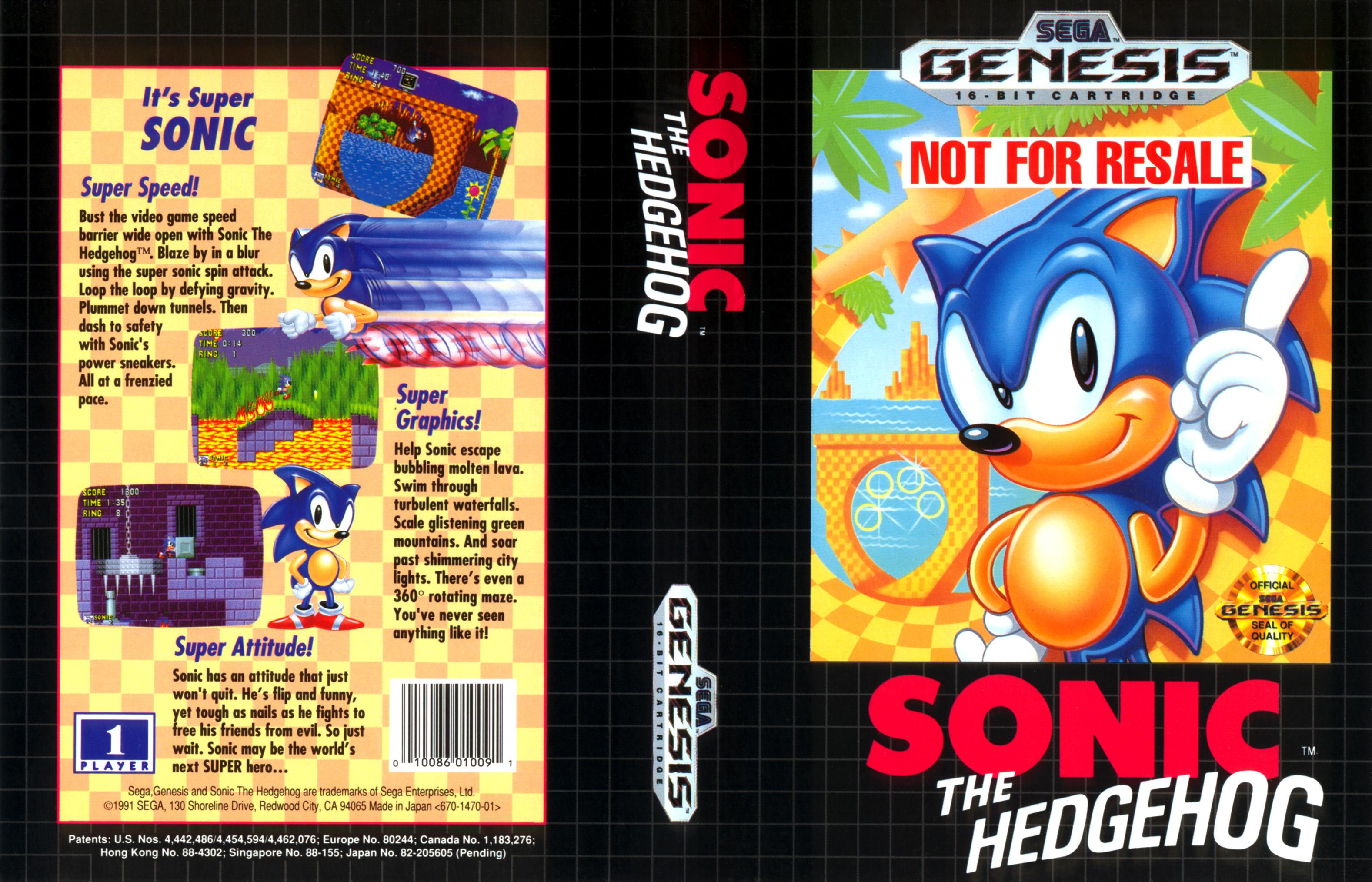 Sonic the Hedgehog (Sega Genesis)