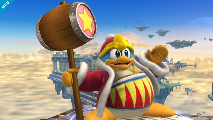 Super Smash Bros for Wii U: King Dedede