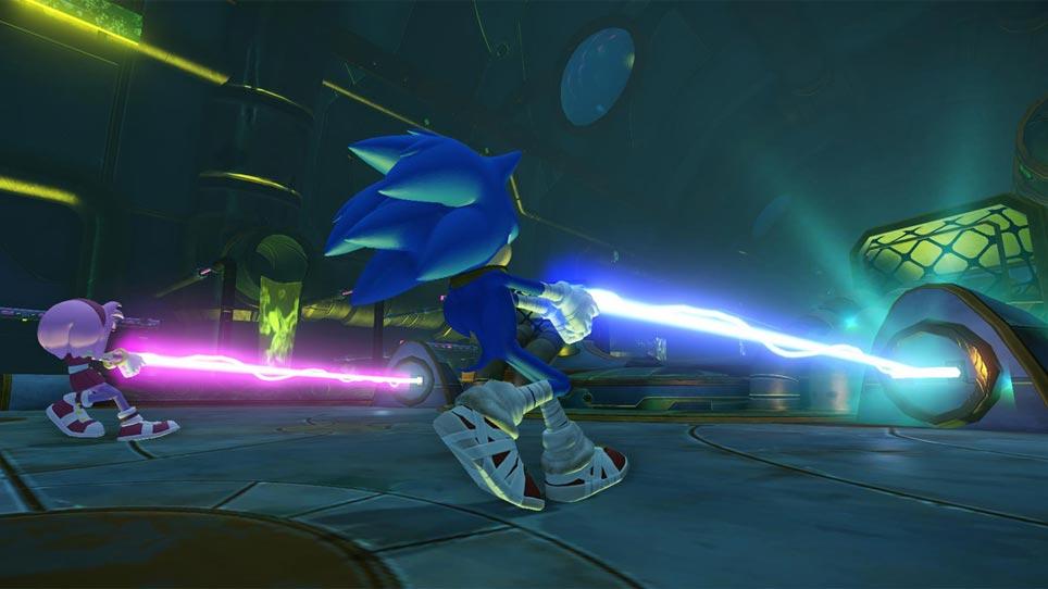 Sonic Boom - Energy Beam