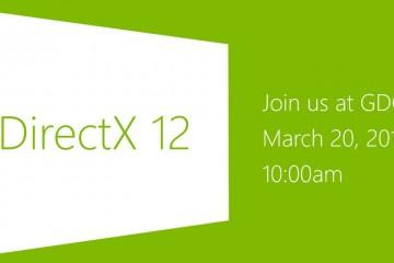 Microsoft: DirectX 12