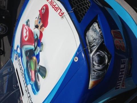 Mario Kart 8 / NASCAR