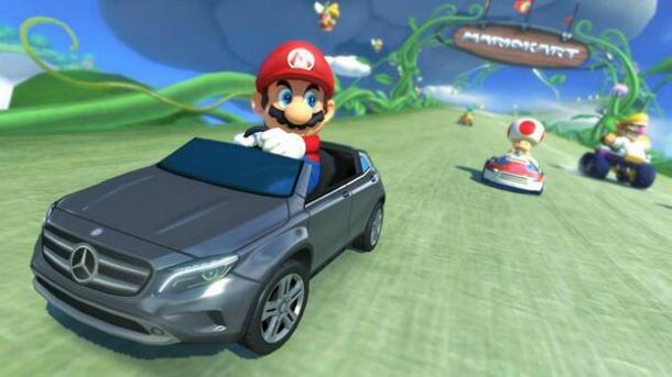 Mario Kart 8 - Mercedes Benz