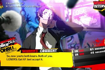 Persona 4 Arena Ultimax - Adachi - 1