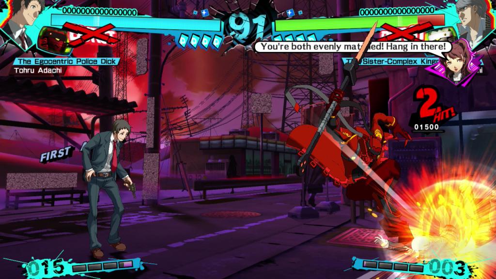 Persona 4 Arena Ultimax - Adachi - 2