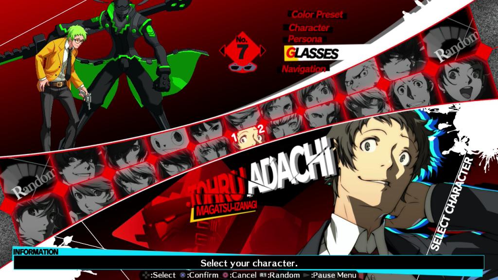 Persona 4 Arena Ultimax - Adachi - 4