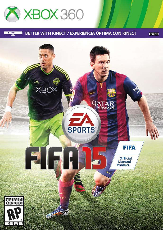 FIFA 15 - Messi / Dempsey - Xbox 360