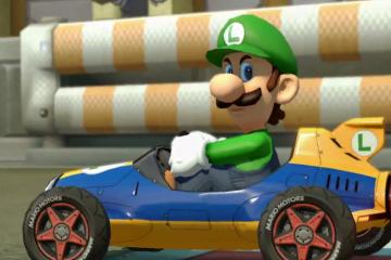 Nintendo (JP) - Mario Kart 8 w/ Luigi Death Stare