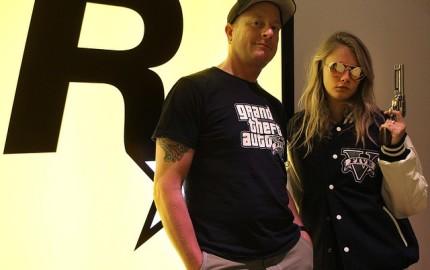 Cara Delevingne @ Rockstar Games