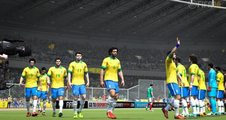 FIFA 14 - Brazil Team