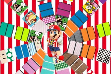 New Nintendo 3DS - Mario - Placas del New Nintendo 3DS