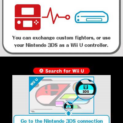 El 3DS como controlador para Super Smash Bros para el Wii U
