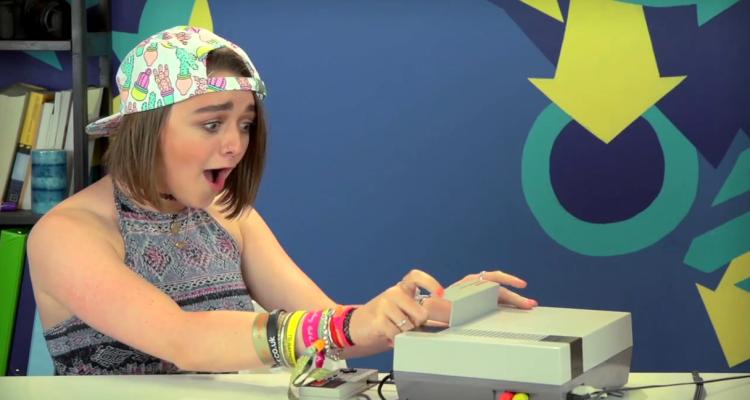 Adolescentes reaccionan ante el NES
