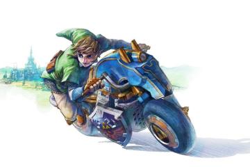 Mario Kart 8 - Link - Master Cycle