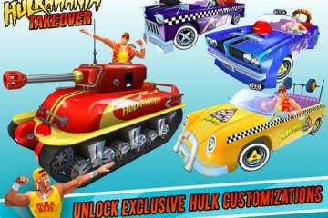 Crazy Taxi City Rush - Hulk Takeover