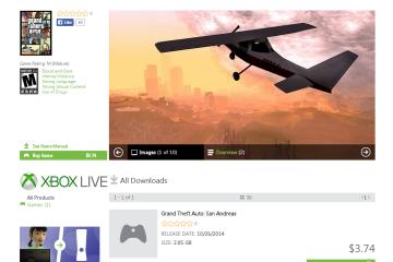 Grand Theft Auto : San Andreas | $3.74