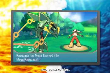Mega Rayquaza / Pokémon Omega Ruby & Pokémon Alpha Sapphire
