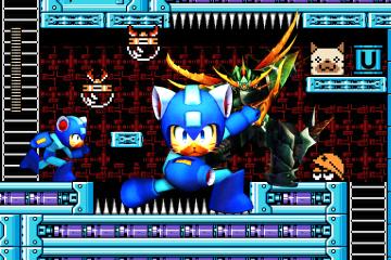 Monster Hunter 4 Ultimate - Palico version of Mega Man
