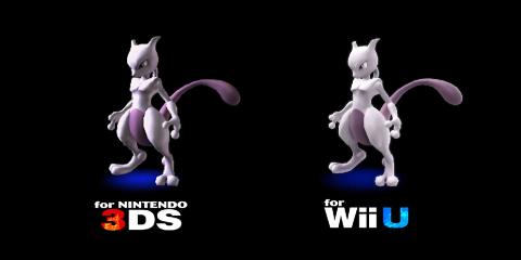 Super Smash Bros (Wii U / 3DS) - Mewtwo