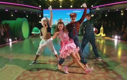 ABC's Dancing with the Stars - Sadie Robertson & Mark Ballas' Super Mario Bros. Freestyle Dance