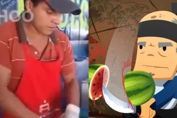 Lemon-Cutter Ninja & Fruit Ninja