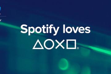 Spotify loves playStation