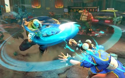Charlie Nash vs Chun-Li in Street Fighter V