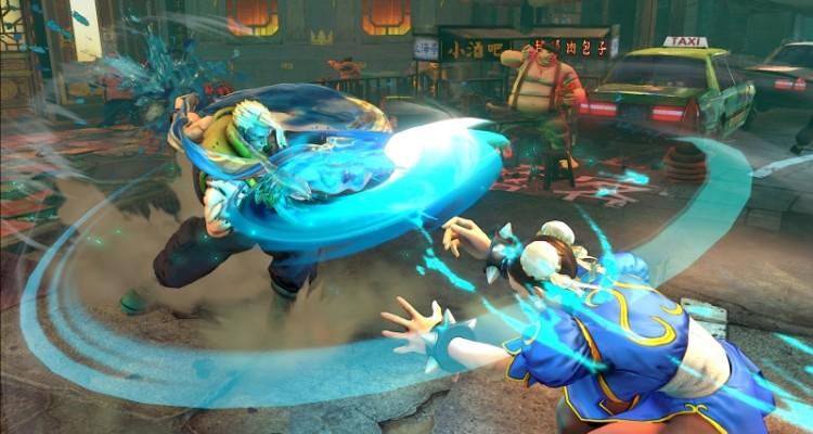 Charlie Nash vs Chun-Li en Street Fighter V