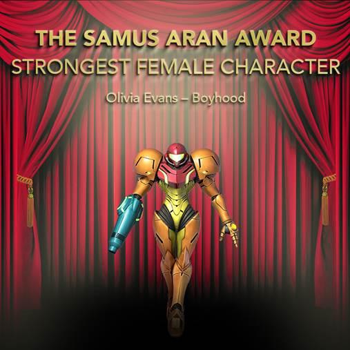 The Samus Aran Award