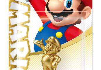 Amiibo Super Mario - edición dorada