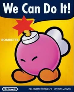 Nintendo / Bombette / Women's History Month