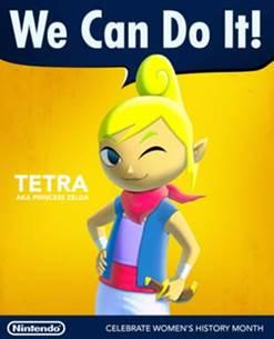 Nintendo / Tetra / Women's History Month