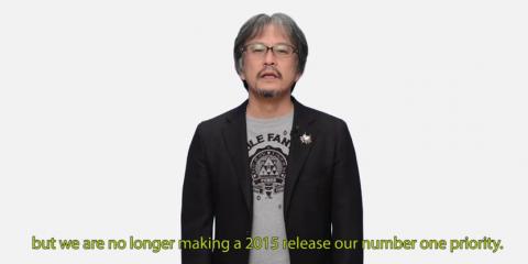 Aonuma announcement: The Legend of Zelda for Wii U launch not in 2015