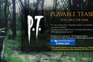 Konami planea retirar el avance jugable de Silent Hills de la PSN