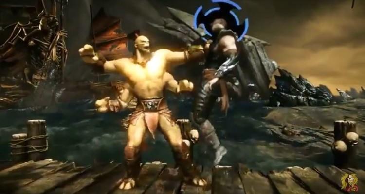 Avance de Goro en Mortal Kombat X