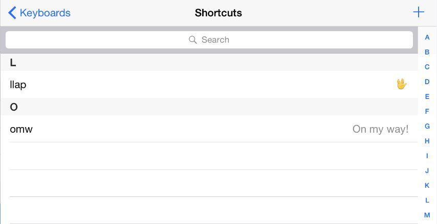 El emoji de Spock en iOS
