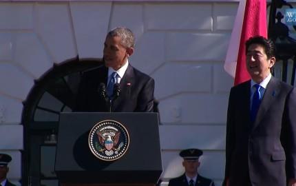 During TPP talks, Obama thanks Japan for anime, manga, karate, karaoke and emojis