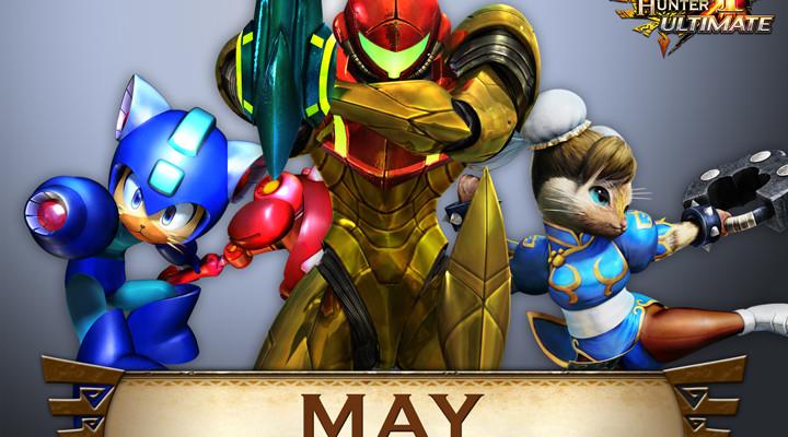Capcom lanza paquete DLC de mayo gratis para Monster Hunter 4 Ultimate