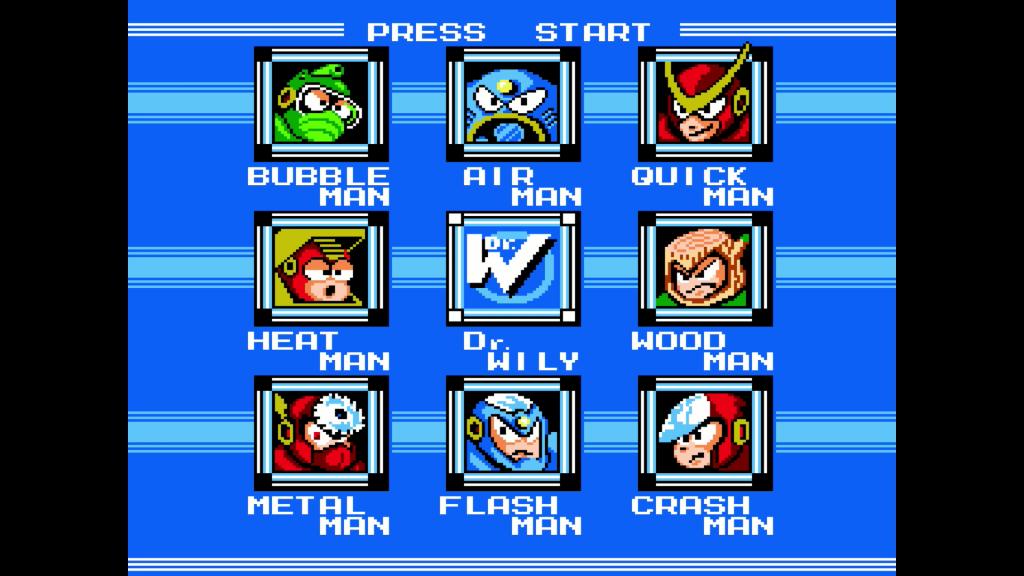 Mega Man Legacy Collection // Mega Man 2 - Stage Select