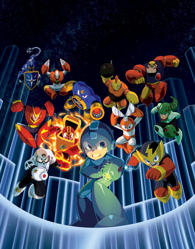 Capcom announces Mega Man Legacy Collection